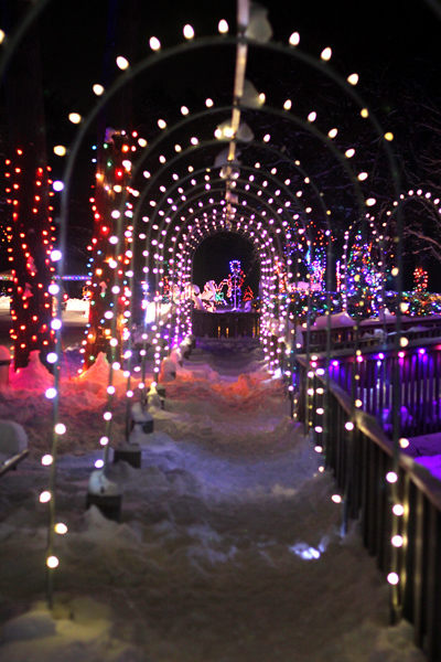 Andrea Paulseth photo of Irvine Park Christmas Village